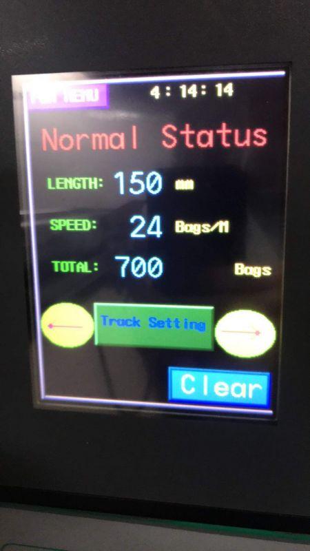Zmiana czasu w maszynie pakującej ZW 320E