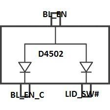 Asus R556L potrzebny schemat płyty, brak obrazu na lcd