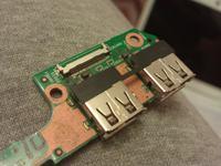 HP Pavilion dm3 - Samodzielna wymiana uszkodzonych gniazd USB
