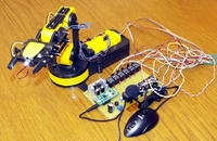 Demostenes - robot sterowany ludzkim głosem