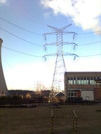 Linia energetyczna wysokiego napięcia