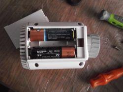 Elektroniczna głowica termostatyczna zasilanie zewnętrzne
