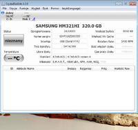 Samsung HM321HI 320GB 2'5, BIOS widzi, bardzo wolny.