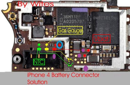 IPhone 4 - Nie widzi baterii po zalaniu