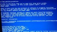 Blue screen i błędy aplikacji - Windows 7