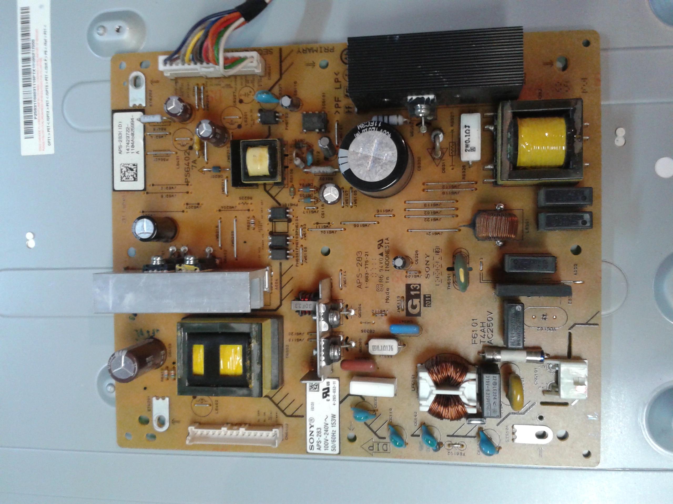 [Sprzedam] Zasilacz APS-283, inverter T731041.00 Sony Bravia KDL-32BX320