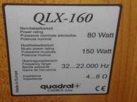 Radmor 5102-TE i kolumny Quadral QLX-160 a komputer.