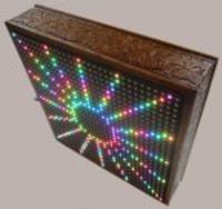 Wy�wietlacz z diod LED RGB sterowany pilotem
