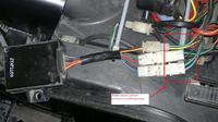 eglmotor 250 madmax - Opis przewodów dochodzących do modułu zapłonowego