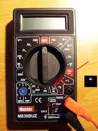 Multimetr - jak zrobić w nim brzęczyk na zwarcie?