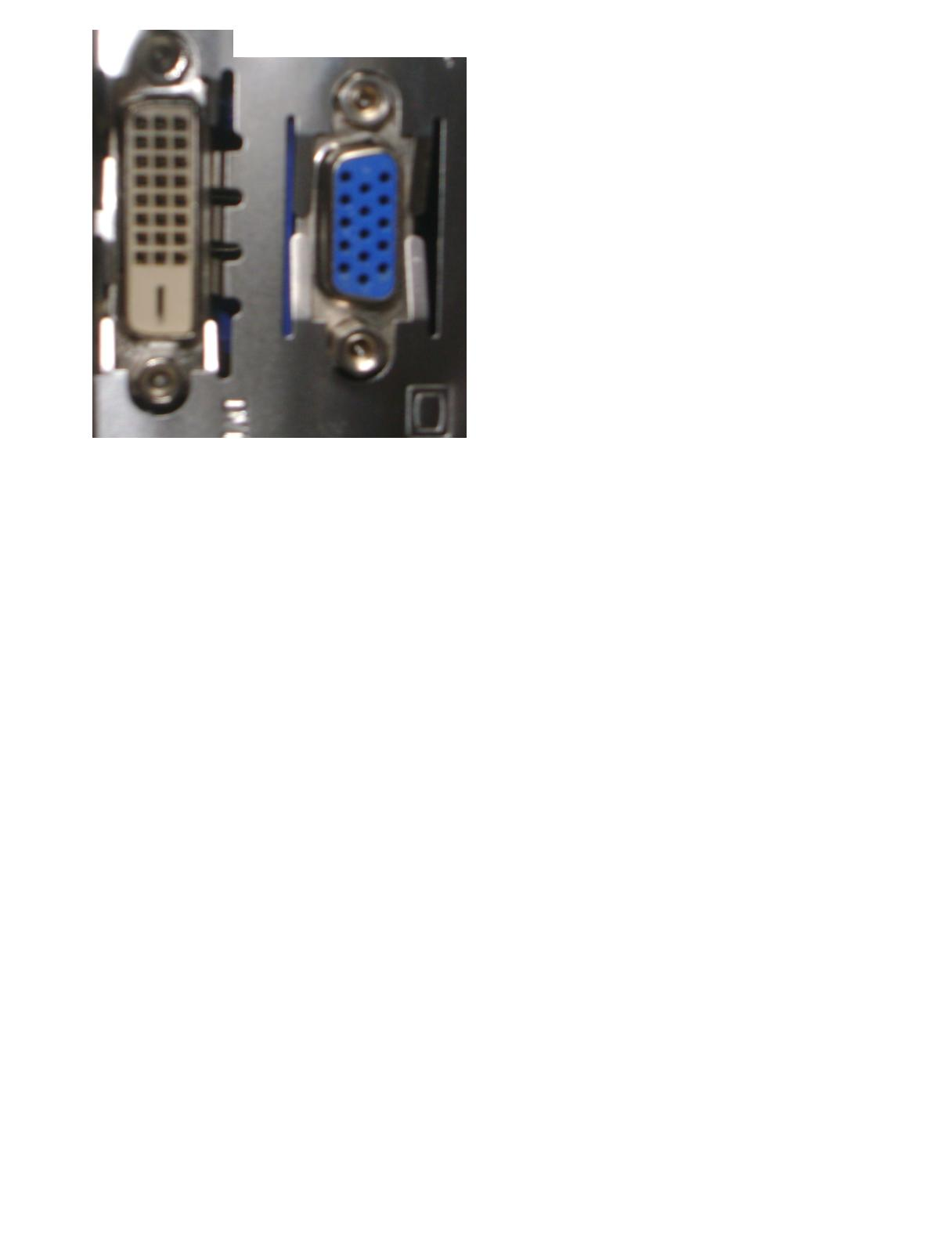 Pod��czenie Komputera nowego typu bez s -video do telewizora starego typu  Euro