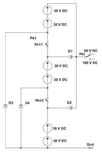 Przekaźnik 24VDC - Do prądu stałego 10A o napięciu 210V DC 4stykowy