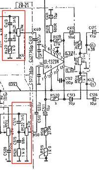 Amator stereo DSS 101 - Wyłączenie konturu/loudness