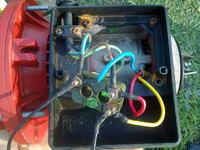 Pod��czenie silnika elektrycznego pompki g��binowej