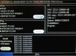 transit 2.2 cdti 125km - K-tag SID208 jak odczytać?