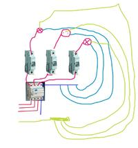 Podłączenie różnicówki 3-fazowej