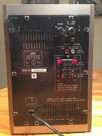 JVC SP PW100 +5 kolumn - jak podłączyć wszystko pod PC?