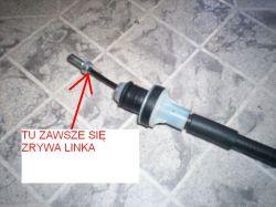 Opel Corsa B 1.0 99r. X10XE - Często zrywające się linki sprzęgła przy pedałach