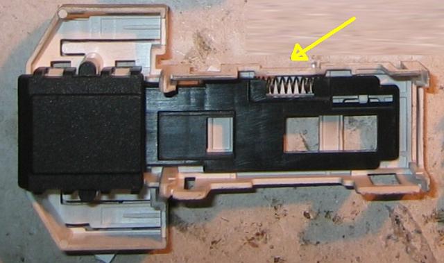 Pralka Whirlpool AWG 874-blokada drzwiczek.