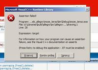 C++ - Code Bloks Allegro5 błąd przy kompilacji.