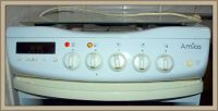 Kuchnia Amica G6E3.43SZTc - pokrętło się wytarło od piekarnika