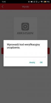 """Ezviz/hikvision """"Urządzenie zostało dodane przez inne konto"""". Wyjście?"""