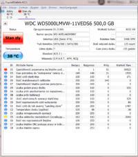 WDC WD500LMVW-11VEDS6 - Odzyskanie Danych z uszkodzonego dysku