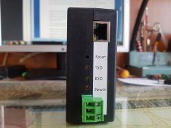 Konwerter RS232/RS485/TTL5V na Ethernet.