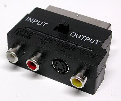 Pytanie o jakość obrazu prześciówki Scart - S-Video + cinch