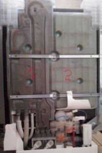 Zmywarka Bosch SD13JT1B - Nie nalewa 'ciep�ej' (=zimnej, kt�r� podgrzewa) wody