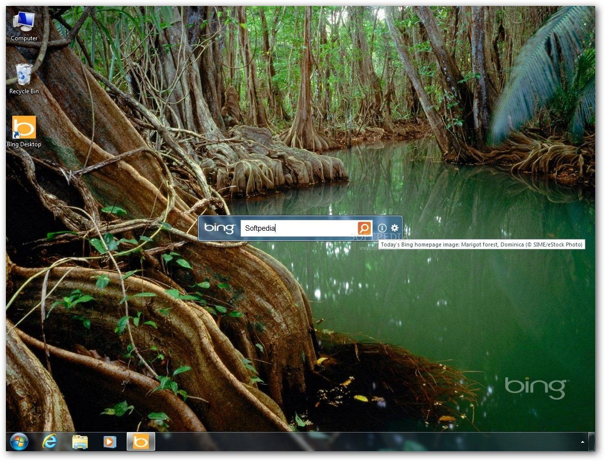 Bing Desktop 1.1 ze wsparciem dla Windows XP i Windows 8