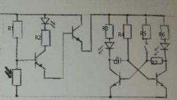 Układ klatkowy do złożenia ale z diodą LED