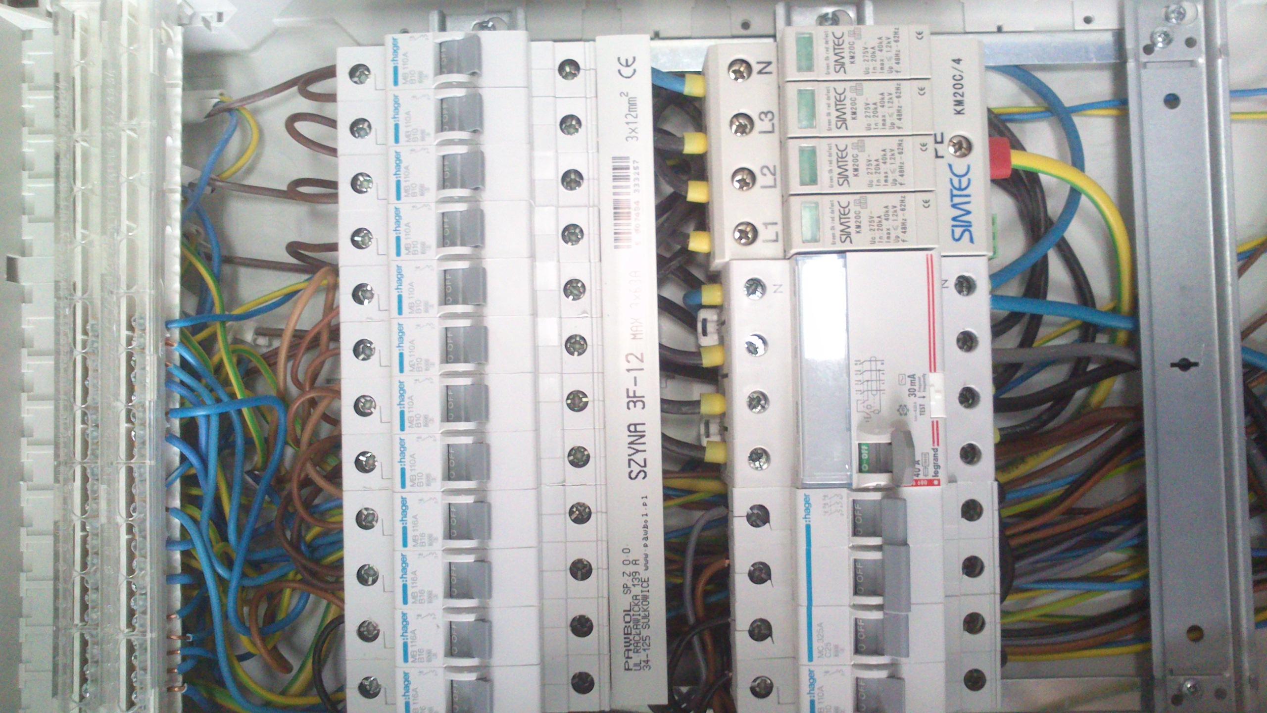 instalacja elektyczna w domu
