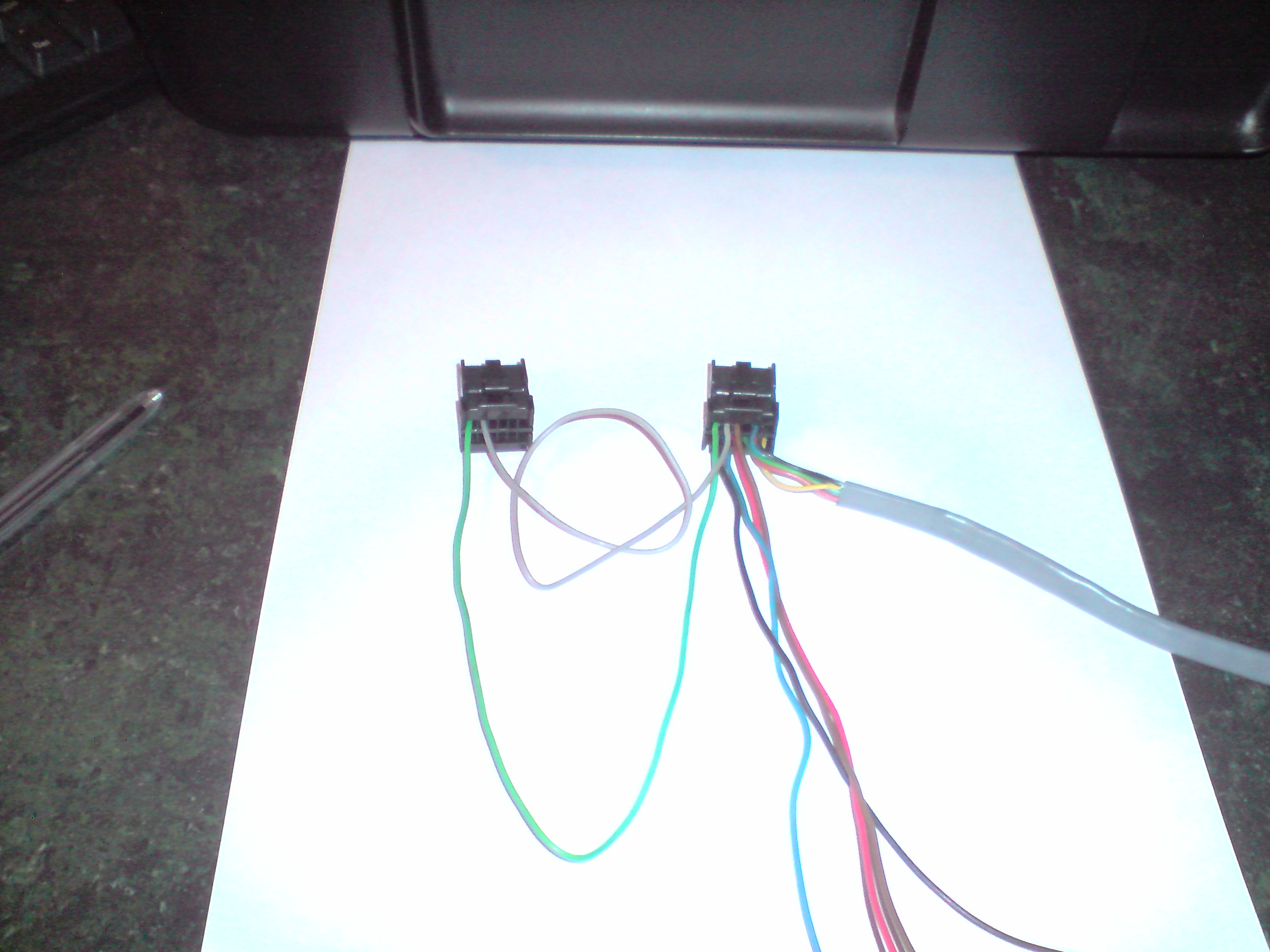 Radio FORD /moc??/ + Zmieniarka + jak posk�ada� kabel.