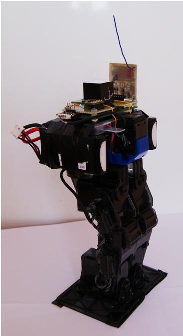 Sterowanie robotem humanoidalnym Futaba RBT-1