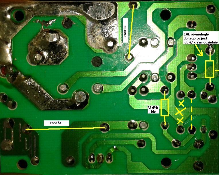 Przerobienie elektronicznego wlacznika pradu z 230 V na 12V