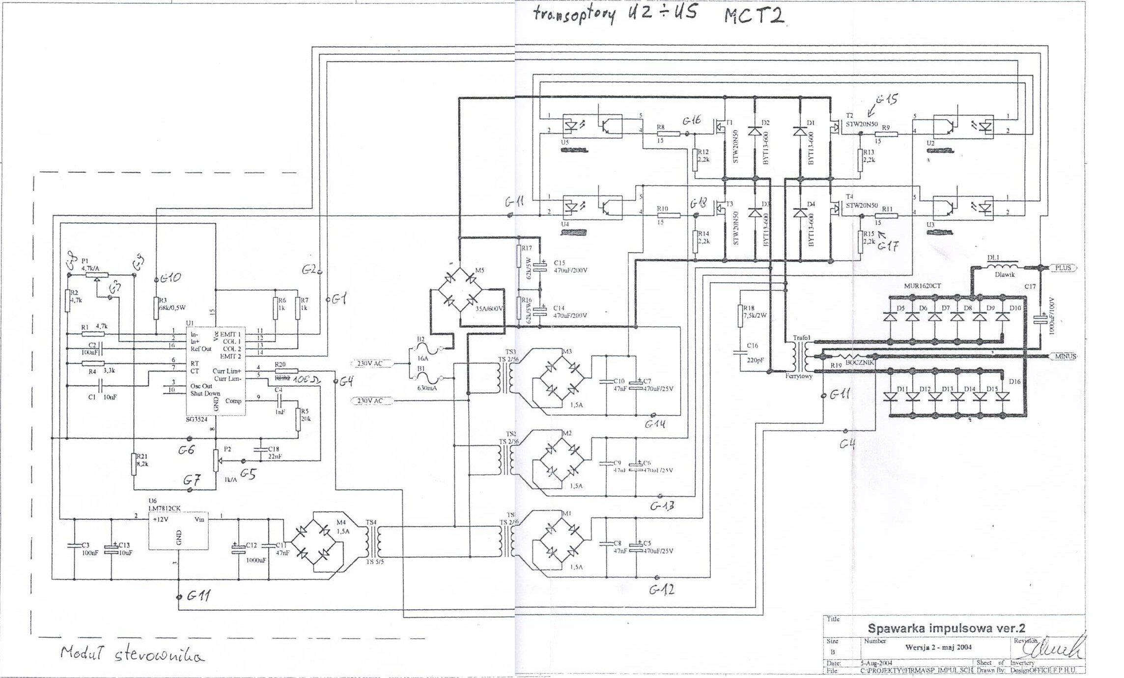 Circuito Optoacoplador : Conexión con arduino y transistor igbt