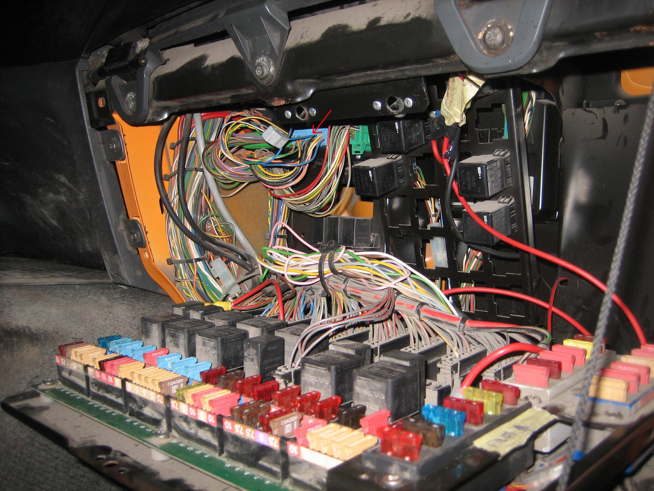 Volvo FL6 18 2000r - Impuls na tacho