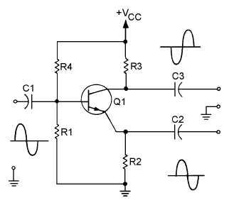 Najprostszy wzmacniacz OpAmp + 2xPower Trans