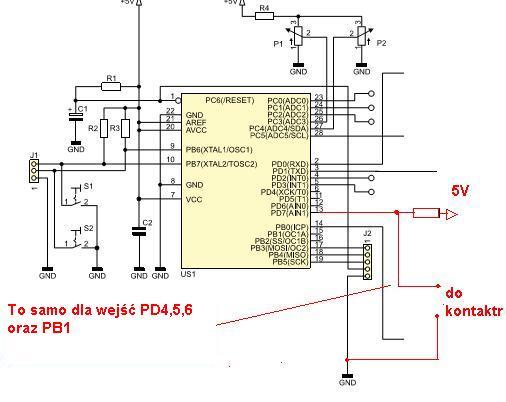 [ATmega8][Bascom] - AVT5341 sterownik bramy - 2 skrzyd�a