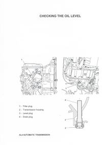 Citroen C5 - Wymiana oleju w skrzyni biegów AUTOMAT