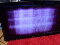 Sony Bravia KDL-32bx300 - matryca nie wyświetla, tylko rozmyty jeden kolor