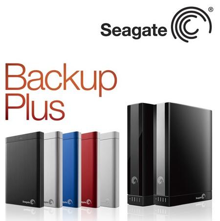 """Seagate Backup Plus - HDD z funkcj� kopii bezpiecze�stwa jednym """"klik"""""""