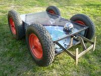 [Sprzedam] Silniki 250W z prze�o�eniem + elementy do budowy pojazdu