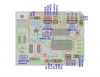Nakładka na Arduino UNO - początek programowania