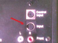 WaveMaster MX5 - 9pin input i 6pin control input. schemat kabli.