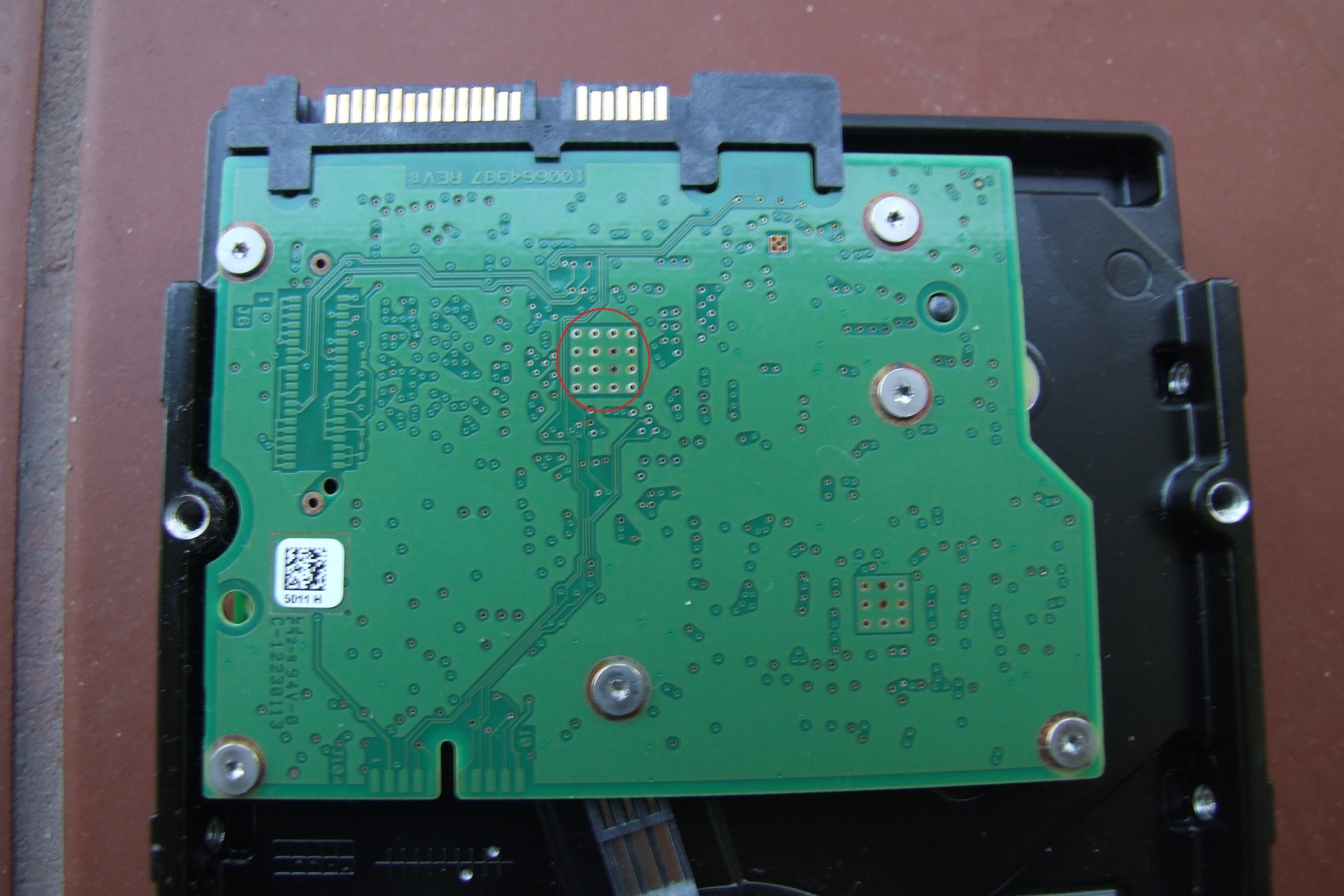 - Seagate Barracuda 2tb uszkodzona elektronika dysku?