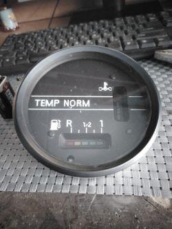 Trabant 1.1/ Wartburg 1.3 - Czujnik temperatury pod wskaźnik, zamiennik elektron