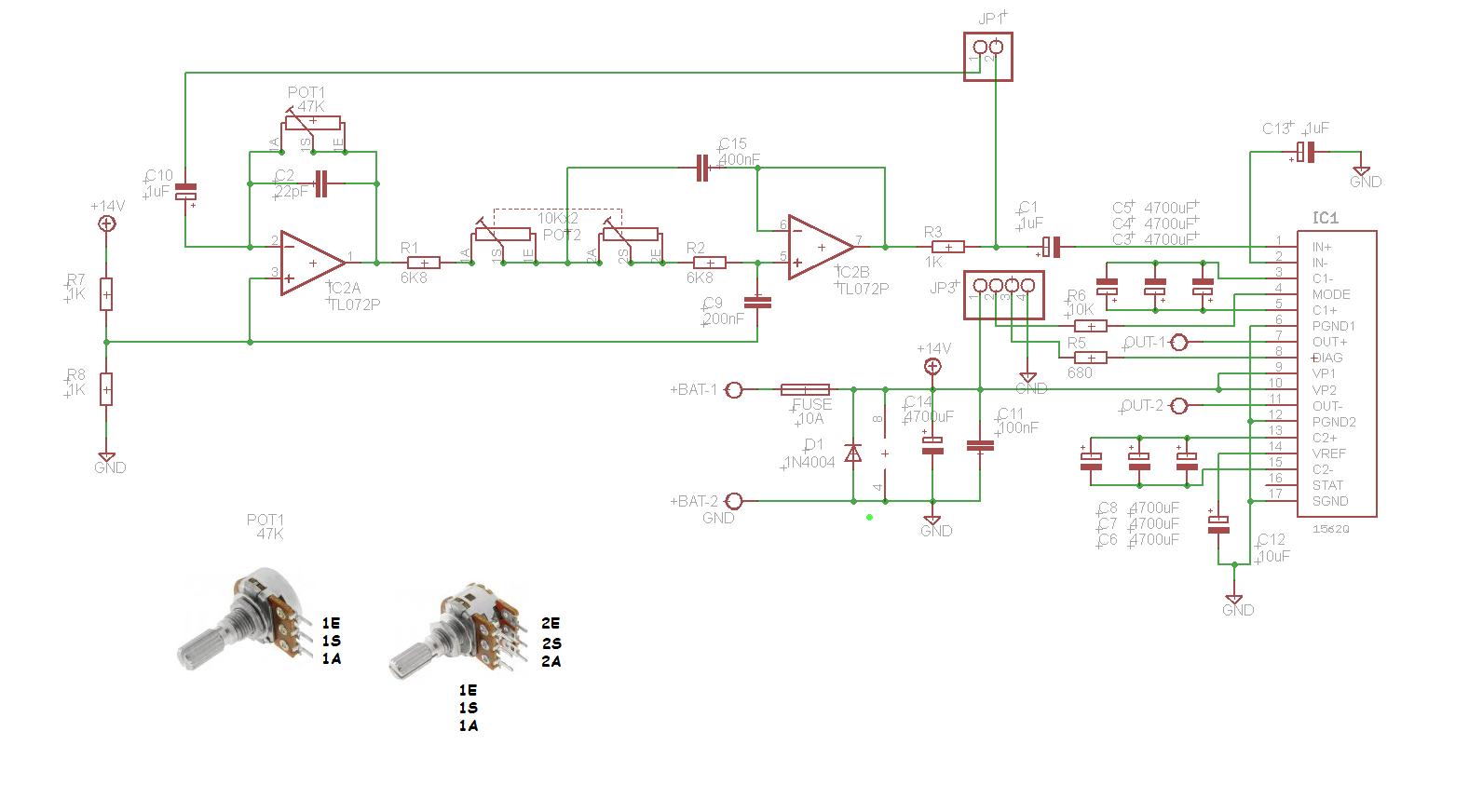 Samochodowy Wzmacniacz Subwoofera 70w 2 Logitech Z 2300 Circuit Diagram