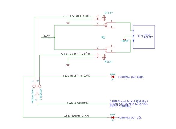 Sterowanie roletami bez RSC-w�asny schemat+INTEGRA (nie chodzi o prog centrali)